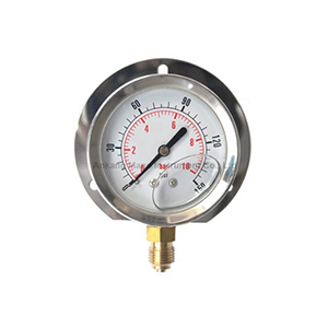 PG-025 Oil filled pressure manometer