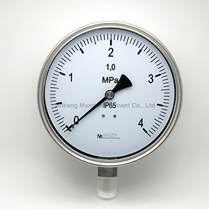 PG-033 SS pressure manometer with blow out disk