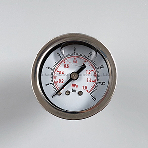 PG-034 40mm 50mm mini ss pressure gauge