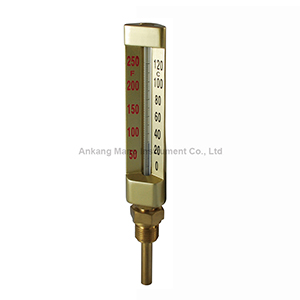 TG-032 Brass stem glass thermometer