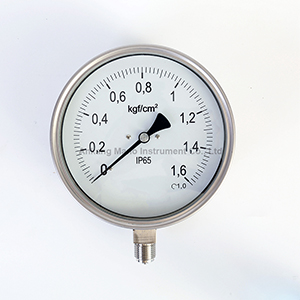 PG-037 SS safety pattern pressure gauge