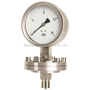 PG-075 Low pressure diaphragm pressure gauge