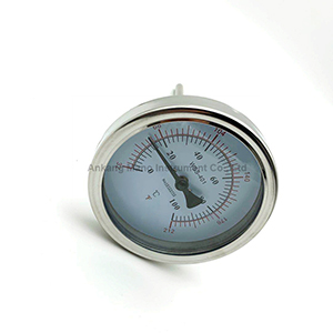 TG-011B Bimetal thermometer SS back mount